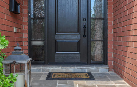 classic front entry door
